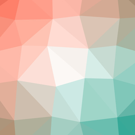 Beautiful abstract illustration of green, blue and red triangle poligon. Handsome  for your needs. Stok Fotoğraf