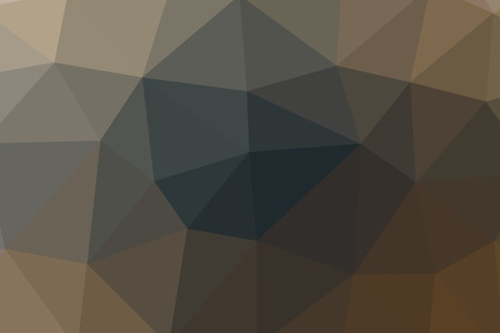 Lovely abstract illustration of brown triangle poligon. Useful  for your prints. Stok Fotoğraf