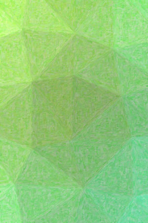 Lovely abstract illustration of green Impasto with small brush paint. Useful  for your prints. Stock Photo