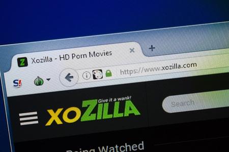 Ryazan, Russia - August 26, 2018: Homepage of Xo Zilla website on the display of PC, Url - XoZilla.com.