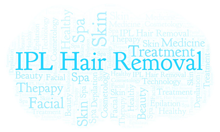 IPL Hair Removal word cloud. Wordcloud made with text only.