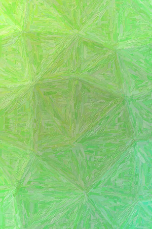 Handsome abstract illustration of green Impasto with long brush strokes paint. Useful  for your project.
