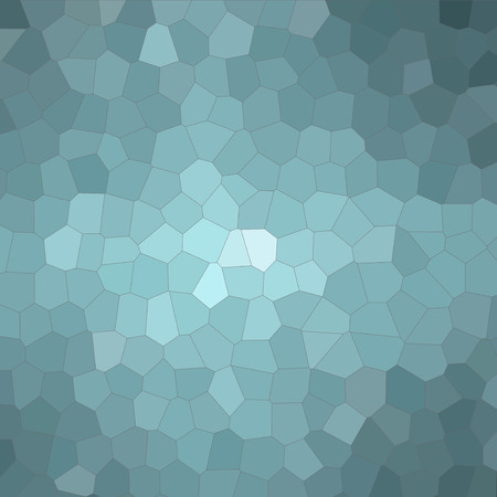 Abstract illustration of Square wintergreen colorful Little hexagon background, digitally generated