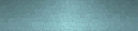 Abstract illustration of wintergreen Small Hexagon banner background, digitally generated