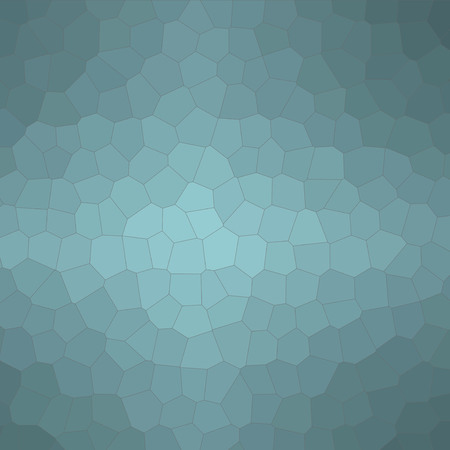 Abstract illustration of Square wintergreen Little hexagon background, digitally generated