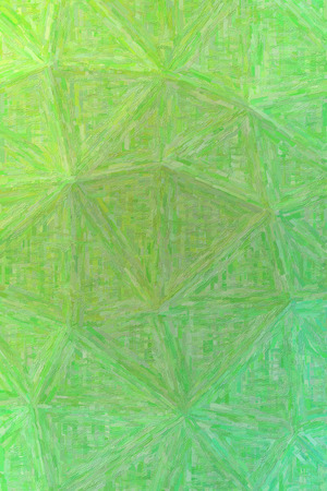Good abstract illustration of green Colorful Impasto paint. Useful  for your work.