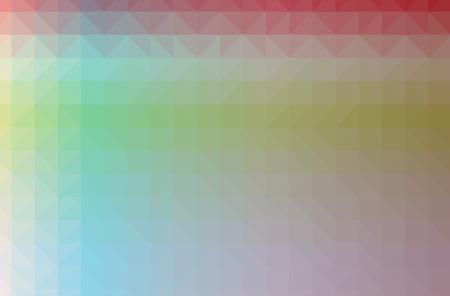 Illustration of blue poligon modern multicolor background Stok Fotoğraf