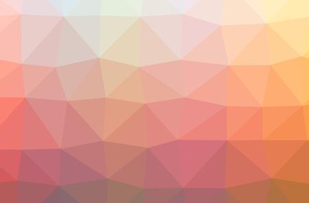 Illustration of red poligon nice multicolor background