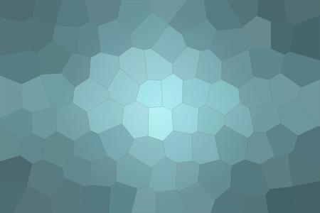 Abstract illustration of wintergreen pastel Big Hexagon background, digitally generated Stock Photo