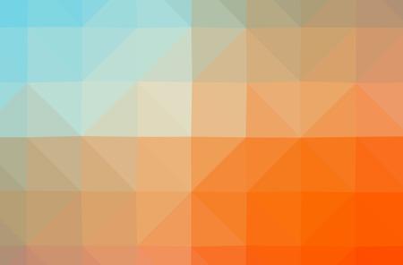 Illustration of orange poligon nice multicolor background Stok Fotoğraf