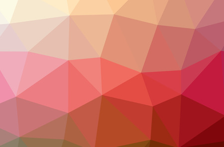 Illustration of red poligon beautiful multicolor background Stok Fotoğraf