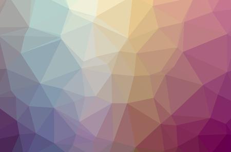 Illustration of red poligon elegant multicolor background Stok Fotoğraf