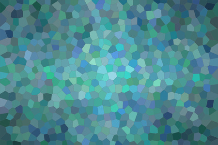 Abstract illustration of wintergreen bright Small Hexagon background, digitally generated Stock Photo