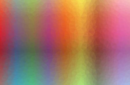 Illustration of orange poligon modern multicolor background Stok Fotoğraf