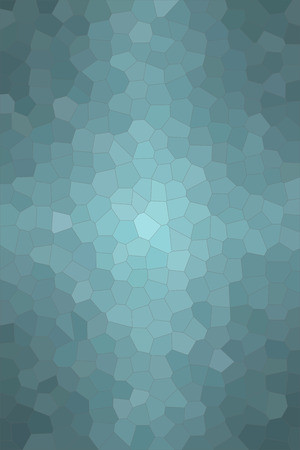 Abstract illustration of Vertical wintergreen pastel Little hexagon background, digitally generated