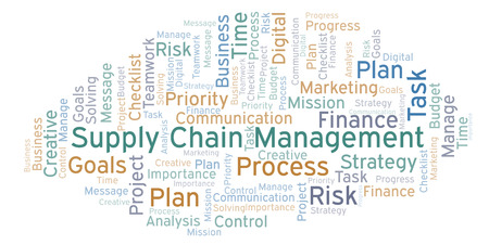 1,049 Supply Chain Management Stock Illustrations, Cliparts