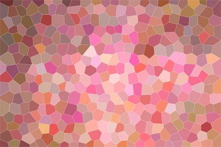 Nice abstract illustration of ebony and pink small hexagon with bright colors paint. Stunning  for your work.