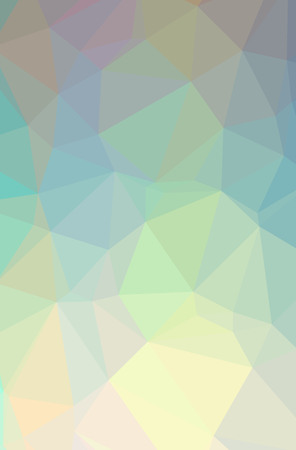 Illustration of abstract Green, Yellow vertical low poly background. Beautiful polygon design pattern. Useful for your needs.