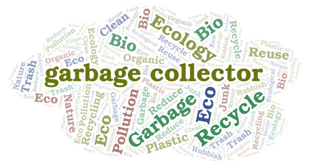 Garbage Collector word cloud. Wordcloud made with text only.