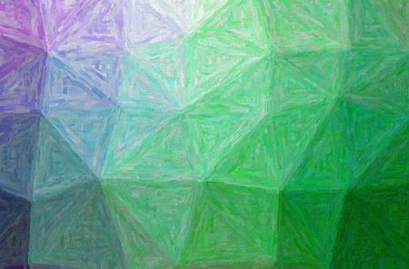 Abstract illustration of green Colorful Impasto background.