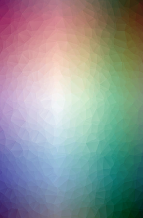 Illustration of abstract Blue, Green, Yellow And Red vertical low poly background. Beautiful polygon design pattern. Useful for your needs.