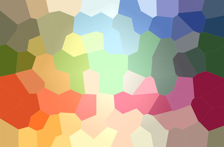 Illustration of green, blue, yellow and red   paint background, digitally generated
