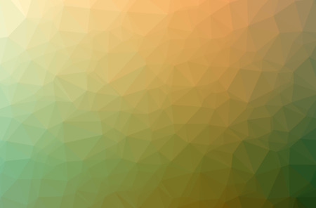 Illustration of abstract Orange horizontal low poly background. Beautiful polygon design pattern. Useful for your needs.