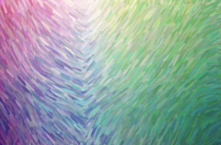 Abstract illustration of blue, green, purple Large Color Variation Oil Paint background. Stock Photo