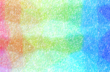 Abstract illustration of blue, green and brown Low Coverage Color Pencil background.