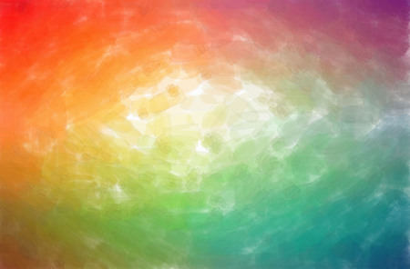 Abstract illustration of orange, pink, red Watercolor with low coverage background. Stok Fotoğraf