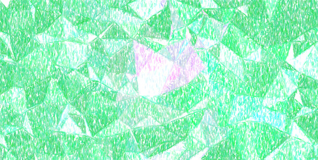 Good abstract illustration of green and magenta color pencil paint. Good  for your needs.