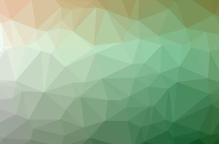 Ilustracja abstrakcyjna Zielone tło poziome low poly. Piękny wzór wielokąta. Przydatne dla Twoich potrzeb.