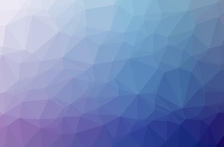 Ilustracja streszczenie niebieskim, fioletowym tle poziome low poly. Piękny wzór wielokąta. Przydatne dla Twoich potrzeb.