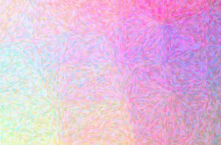 Abstract illustration of pink, yellow Impressionist Pointlilism background.