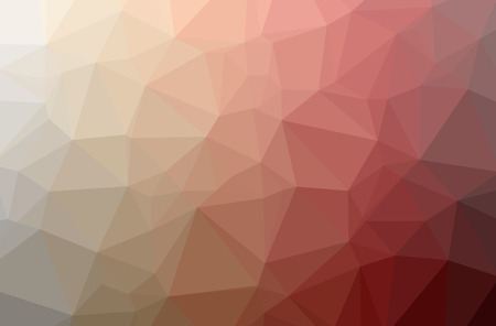 Illustration of abstract Red horizontal low poly background. Beautiful polygon design pattern. Useful for your needs.