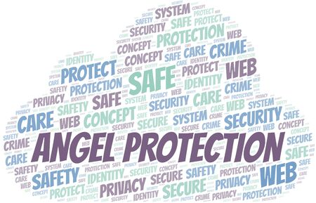 Angel Protection word cloud. Wordcloud made with text only.