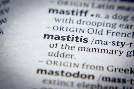 Word or phrase Mastitis in a dictionary Editöryel