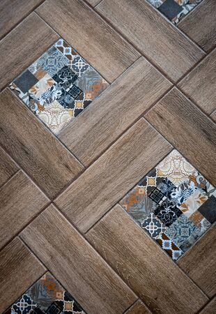 Ceramic tiles flooring - texture of natural ceramic floor