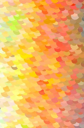yellow, orange, brown and red abstract vector background. Simple AI generated pattern.