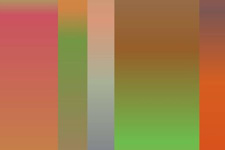Green, yellow, purple and brown stripes or line abstract vector background. Simple AI generated pattern.
