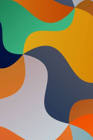 Beautiful abstract vector background. Simple AI generated pattern.