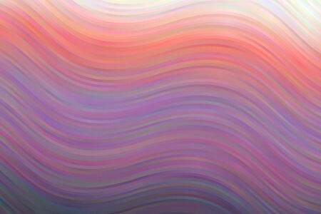 Purple, yellow and pink waves abstract vector background. Simple AI generated pattern.