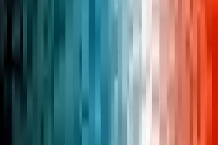 Blue and red lines and stripes vector background. Ilustrace