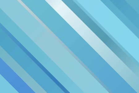 Blue lines or stripes vector background.