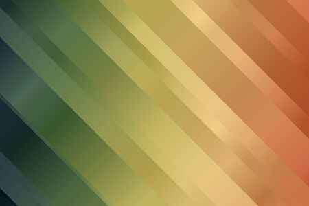 Blue, green and brown lines vector background.