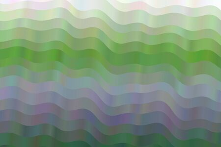 Green and blue waves vector background.