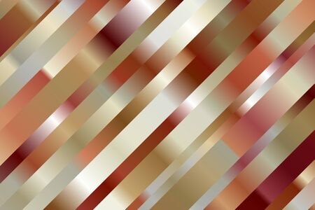 Red, brown and white lines vector background. Ilustrace