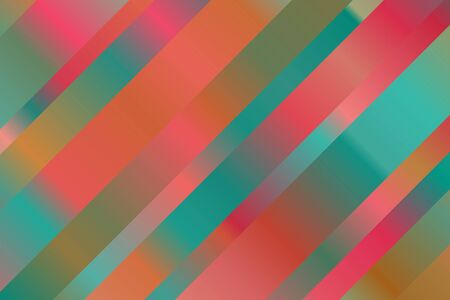 Red, yellow and blue lines vector background. Ilustrace