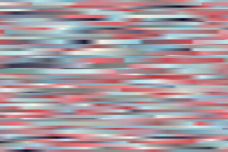 Blue, yellow, light pink and blue stripes vector background. Ilustrace