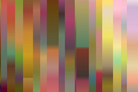 Pink, yellow and blue lines vector background.